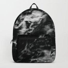 Waves III - Black and White Backpack