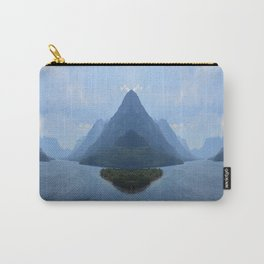 Mirrored Landscape Carry-All Pouch