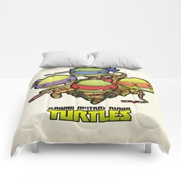 Kawaii Mutant Ninja Turtles Comforters