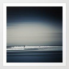 Sea and Surfer 16 Art Print