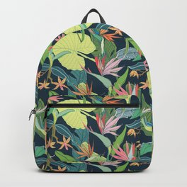Tropical Bird of Paradise Backpack