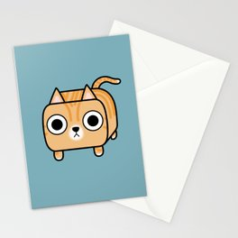 Cat Loaf - Orange Tabby Kitty Stationery Cards