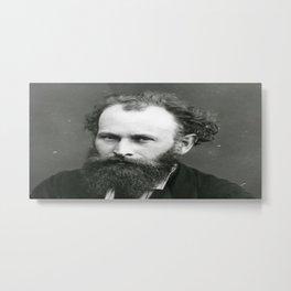 Portrait of Manet by Nadar Metal Print