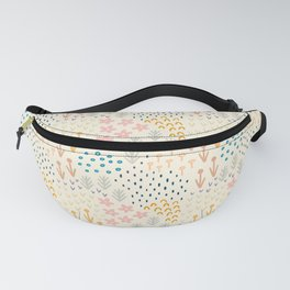 Summer Blooming Meadow Fanny Pack
