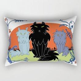 Fairy tale-like wolves Rectangular Pillow