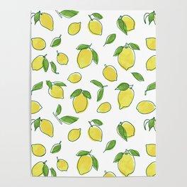 Lemon Leaf Poster