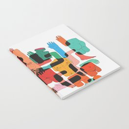 Color Body Patrs Notebook
