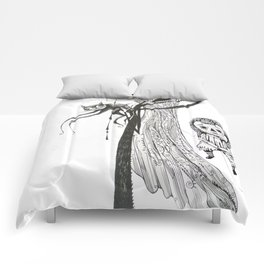 welcome home annabelle Comforters
