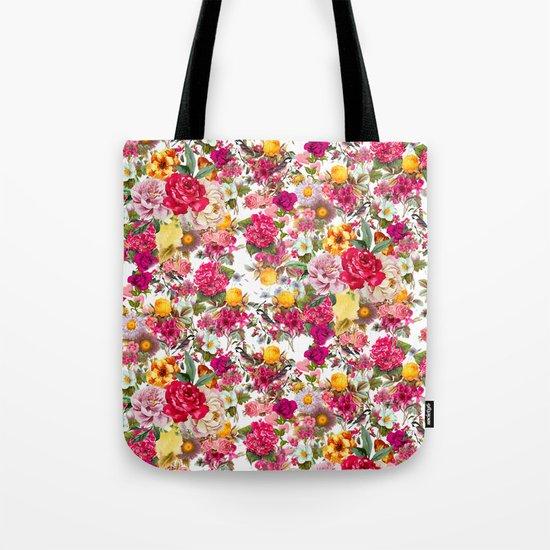 Botanic Pattern Tote Bag