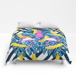 tropical banana fun  Comforters
