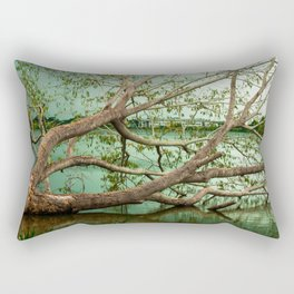 Wandering Branches Rectangular Pillow