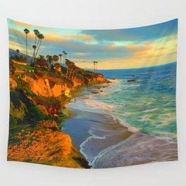 Laguna Beach California Wall Tapestry
