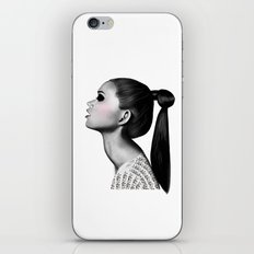 Ponytail iPhone & iPod Skin