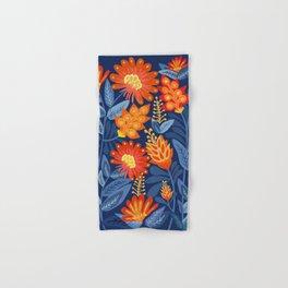 Midnight Garden Hand & Bath Towel