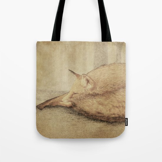 A Quiet Place (sepia option) Tote Bag