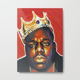 Notorious Biggie - BIG Metal Print