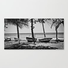 Done for the day Canvas Print