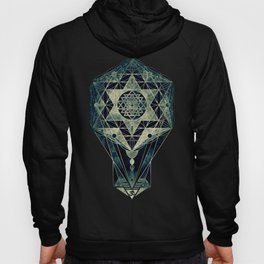 Sacred Geometry for your daily life- SRI YANTRA Hoody