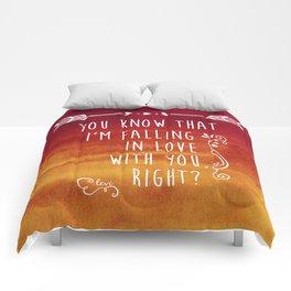 Fangirl Comforters