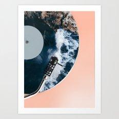 When the Needle Drops Art Print