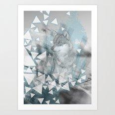 Winter Spirit Art Print