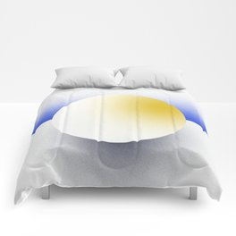 Shape Studies: Circle III Comforters
