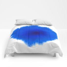 Blue splash Comforters
