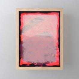Waxahachie Moon Framed Mini Art Print