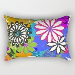 Art Flowers V17 Rectangular Pillow