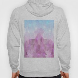 Abstract polygonal background Hoody