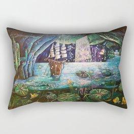 Lake Languish Rectangular Pillow