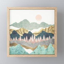 Summer Vista Framed Mini Art Print