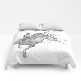 Hare Dandelion Comforters