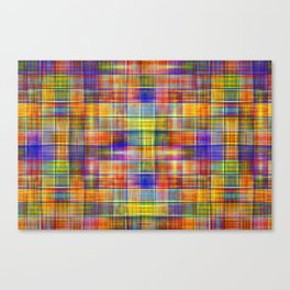 Colorful Bohemian Mosaic Canvas Print