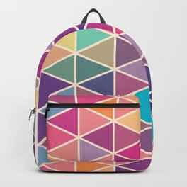 Geometric Triangles Backpack