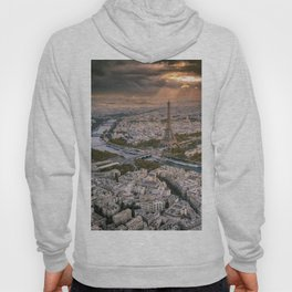Paris from the air Hoody