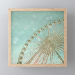 July Framed Mini Art Print