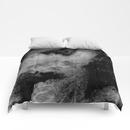 Textures (Black and White version) Comforters