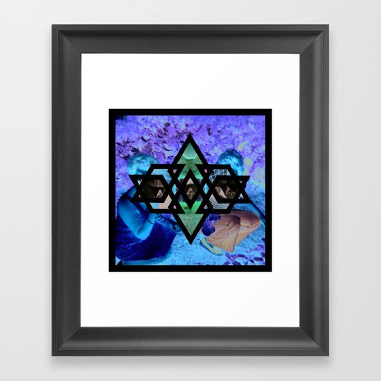 kaleidos-core Framed Art Print