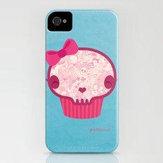 Cupcake Skull iPhone (4, 4s) Slim Case