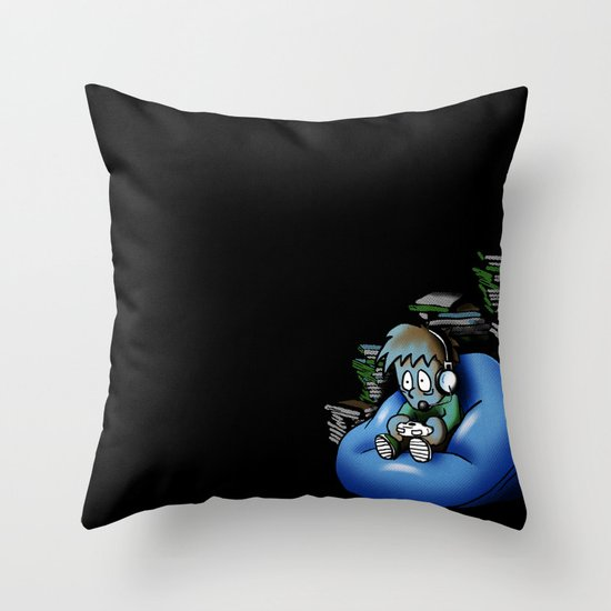 Backlog Throw Pillow