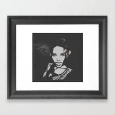 Bright Eyes Framed Art Print