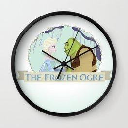 The Frozen Ogre Wall Clock