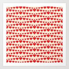 C13D HEARTWAVE Art Print