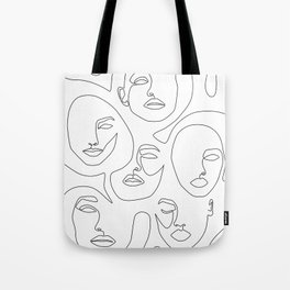 Her and Her Tote Bag