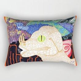 Hybrids In Conversation Rectangular Pillow