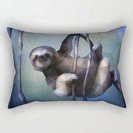 Sloth (Low Poly Cool) Rectangular Pillow