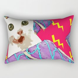 Attack of the breakfast! Rectangular Pillow