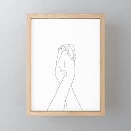 Never Let Me Go II Framed Mini Art Print