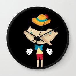 Pinochio Wall Clock